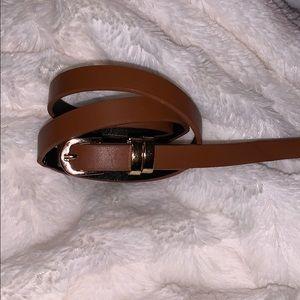 Skinny Brown Belt Never Worn!